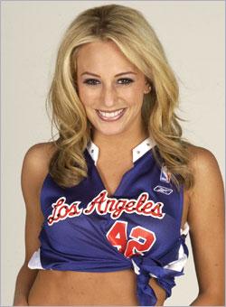 Milwaukee Bucks Cheerleader Kim Taylor